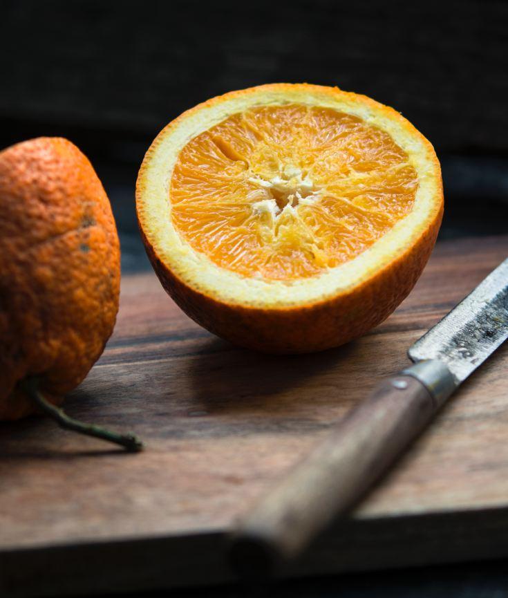 Fresh oranges - healthy changes
