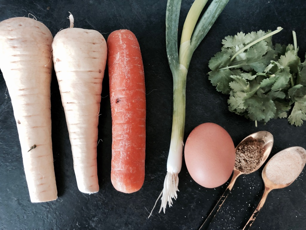 Parsnip rösti ingredients – Pandora's Health